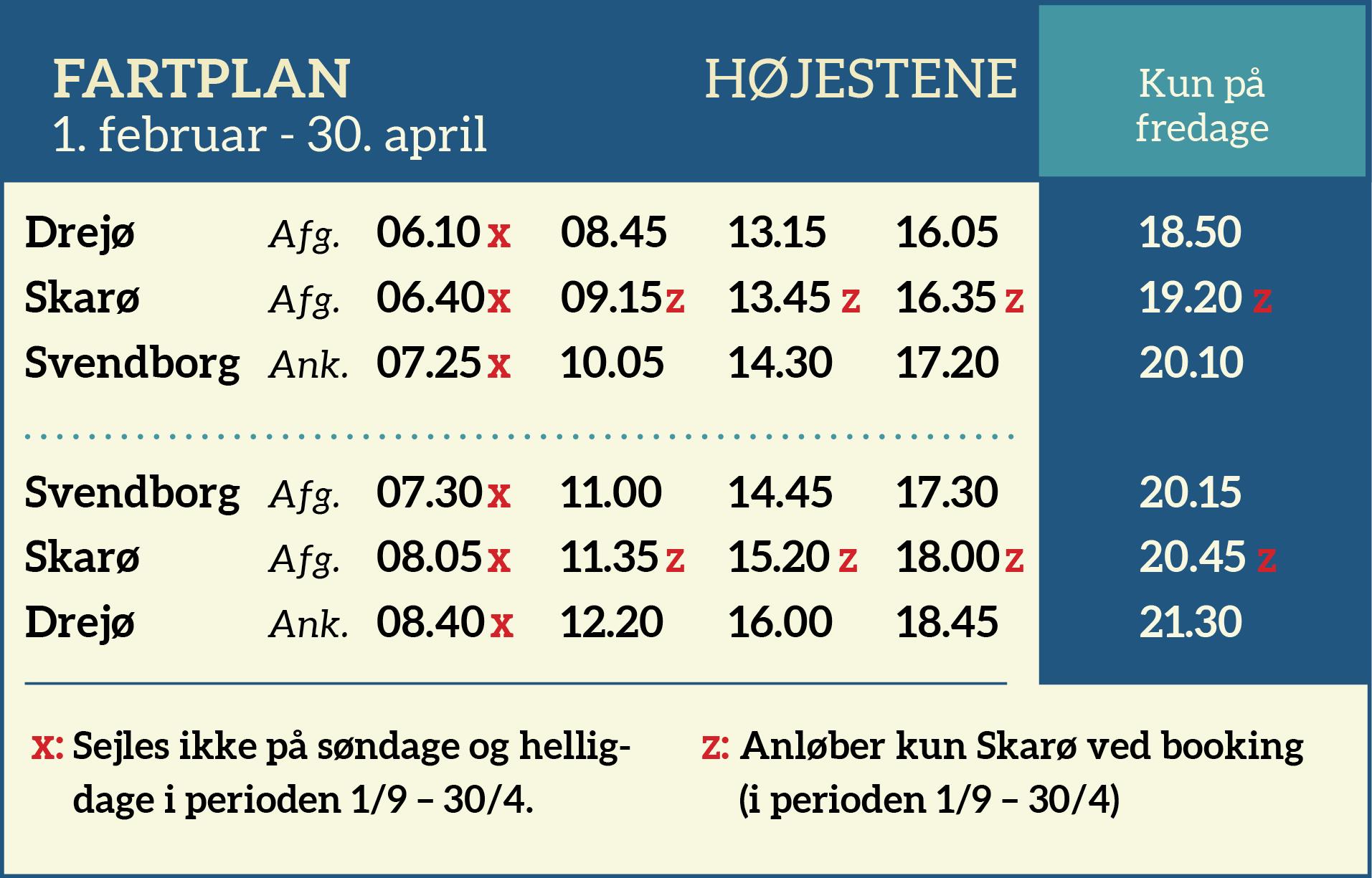 Fartplan 0102-3004